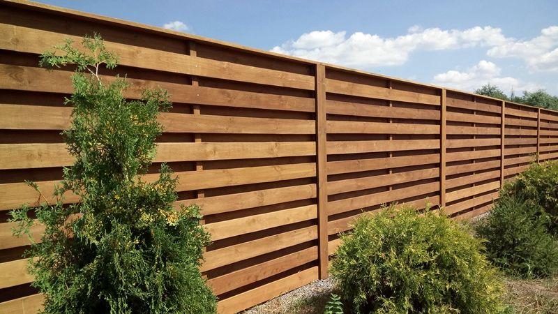 Виды заборов для дома - Деревянный забор